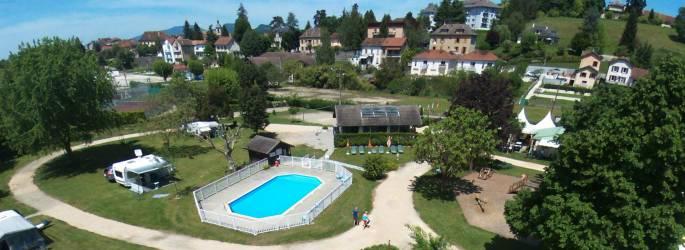 Camping Savoie **** à SAINT GENIX SUR GUIERS Savoie