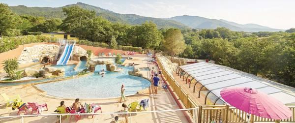 Camping Pyrénées-Orientales **** à LAROQUE DES ALBERES Méditerranée, Côte d'Azur