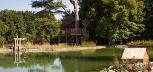 Camping Indre-et-Loire au CAMPING DU DOMAINE DE LA ROCHE BELLIN