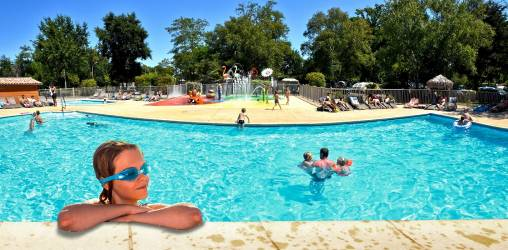 Camping Gironde  à HOURTIN PORT Cote Atlantique