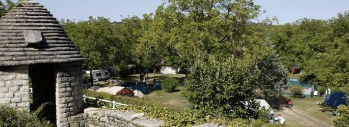 Camping Dordogne *** à DAGLAN Aquitaine