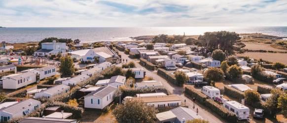 Camping Morbihan au CAMPING LA POINTE DU TALUD