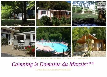 Camping Puy-de-Dôme au CAMPING DOMAINE DU MARAIS