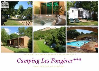 Camping Puy-de-Dôme au CAMPING LES FOUGERES