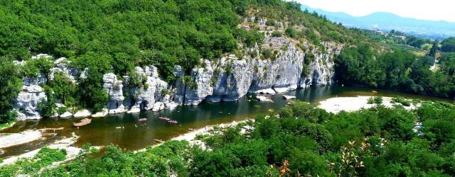 Campeggio Ardèche